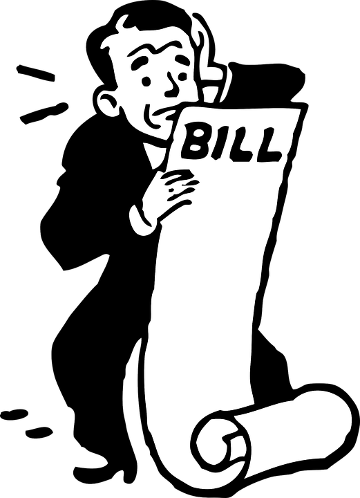 Oh my, my electric bill is way up!