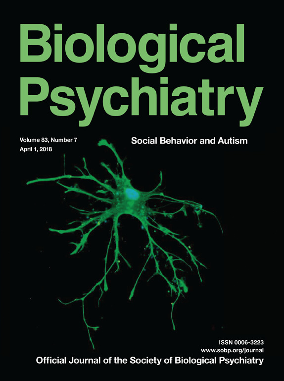 Biological Psychiatry Cover